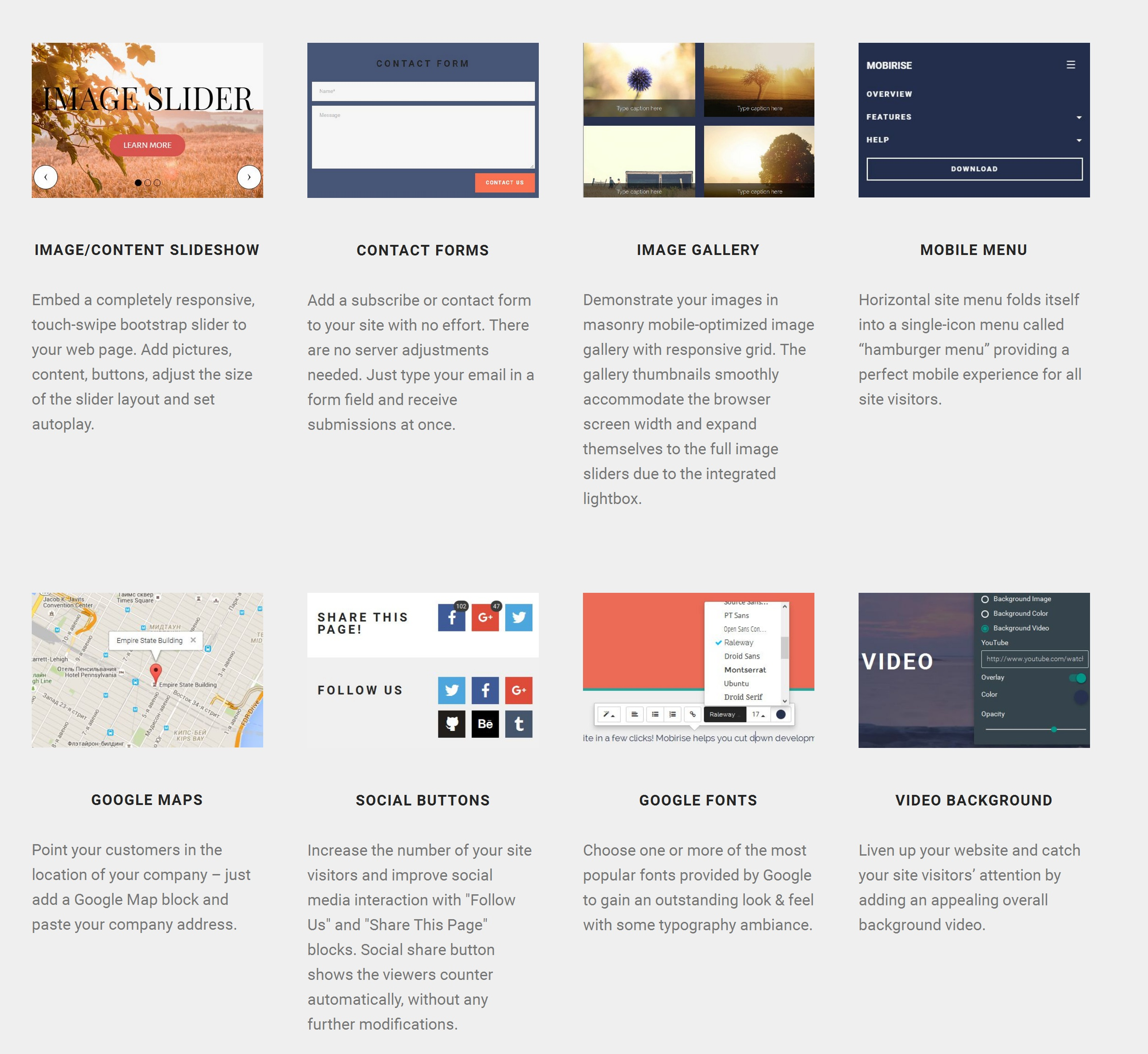 Bootstrap Easy Website Builder Tool