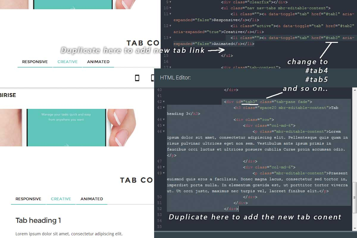 Custom Bootstrap Portfolio Theme Download