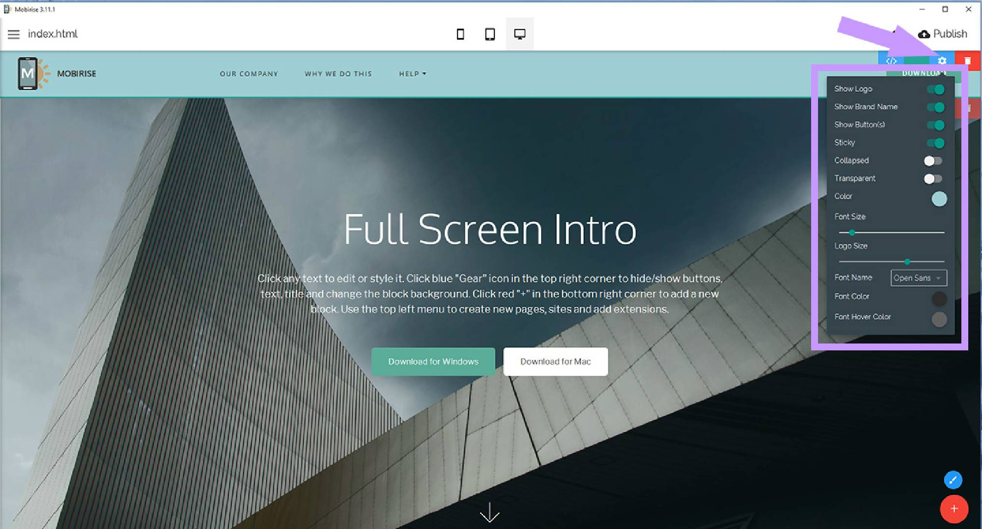 Html5 Website Builder Software
